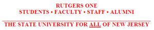 Rutgers One